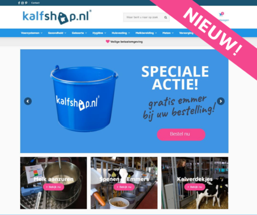Kalfshop - dé online webshop voor kalveropfokproducten